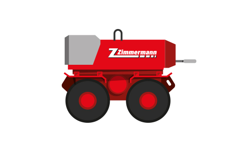Rammax Grabenwalze